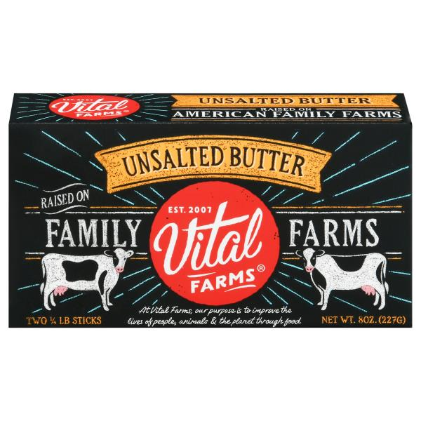 Vital Farms Butter, Unsalted