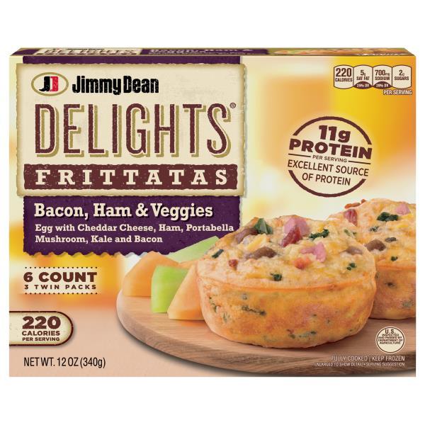 Jimmy Dean Frittatas Bacon Ham Veggies Publix