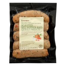 GreenWise Smoked Chicken Sausage, Mediterranean