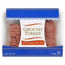 Jennie O Turkey, Ground, 90%/10%