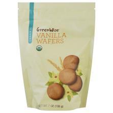 GreenWise Wafers, Organic, Vanilla