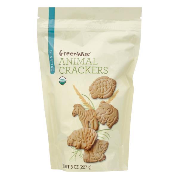 GreenWise Animal Crackers, Organic