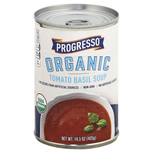 Progresso Organic Soup, Tomato Basil