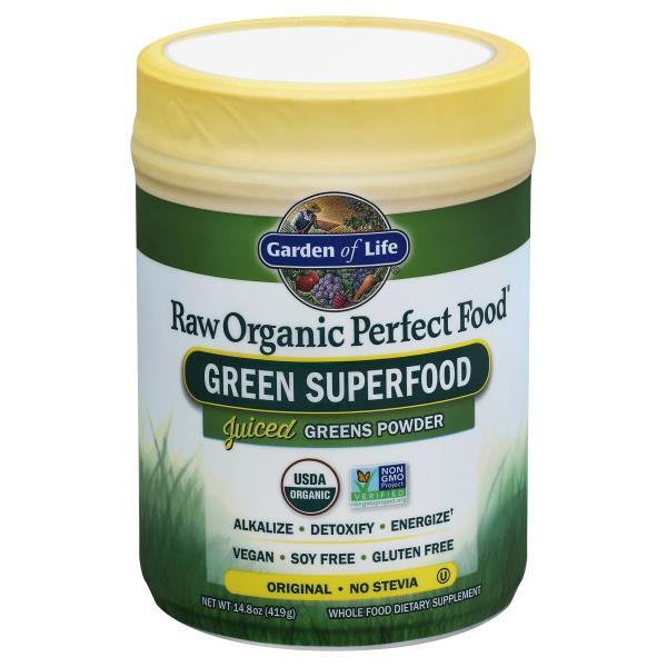 garden of life raw organic perfect food green superfood powder original - Garden Of Life Perfect Food