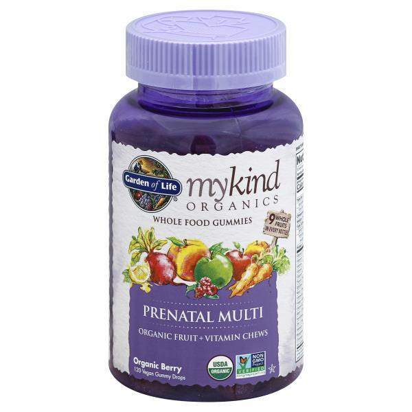 garden of life mykind organics prenatal multi vegan gummy drops organic berry - Garden Of Life Prenatal