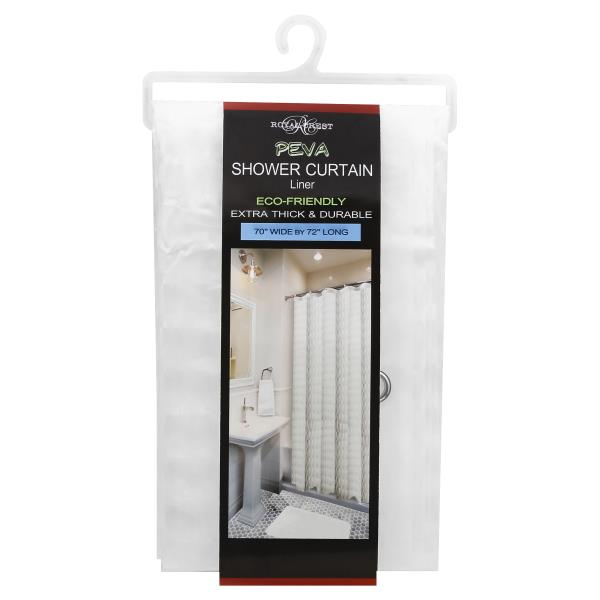 Royal Crest Shower Curtain Liner PEVA