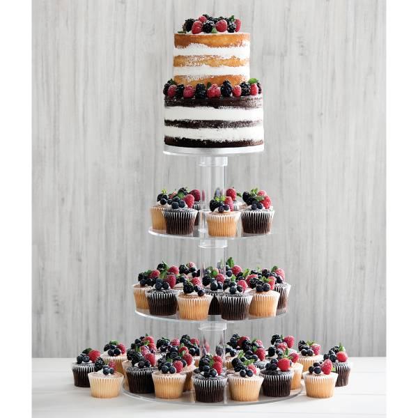 Triple Berry Cupcake Tower : Publix.com