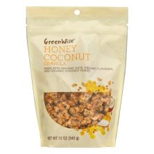 GreenWise Granola, Honey Coconut