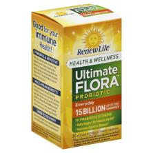 ReNew Life Ultimate Flora Probiotic, Everyday, Vegetable Capsules