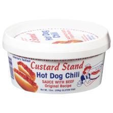 Custard Stand Chili, Hot Dog