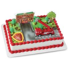 Fire Truck And Station
