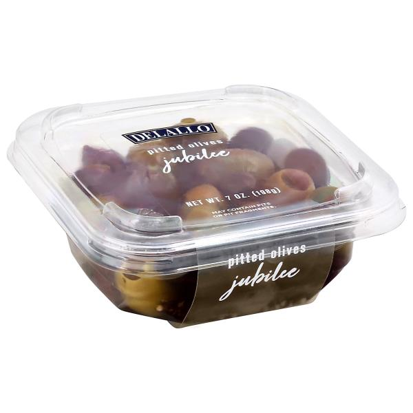 DeLallo Olives Jubille, Pitted