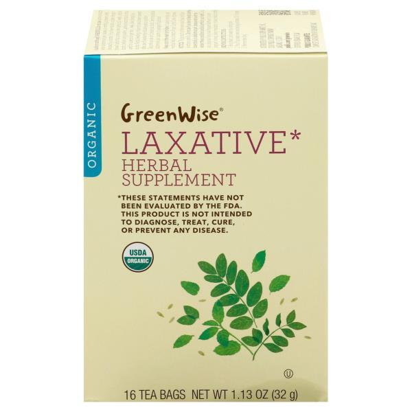 Greenwise Laxative Organic Tea Bags
