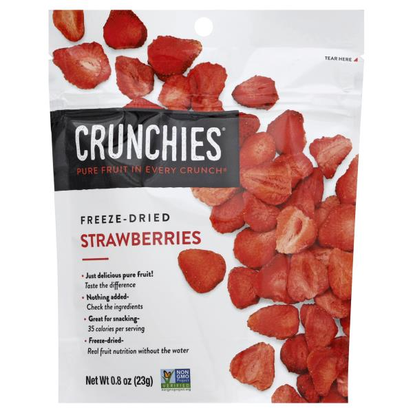 Crunchies Strawberries, Freeze-Dried