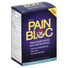 Vizuri PainBloc24, Topical Analgesic