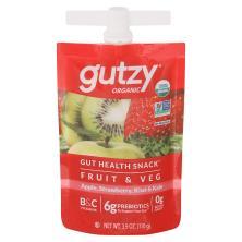 Gutzy Organic Straw/Kiwi/Kale Prebiotic