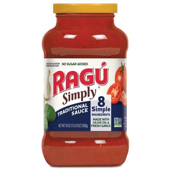 Ragu Simply Pasta Sauce, Traditional