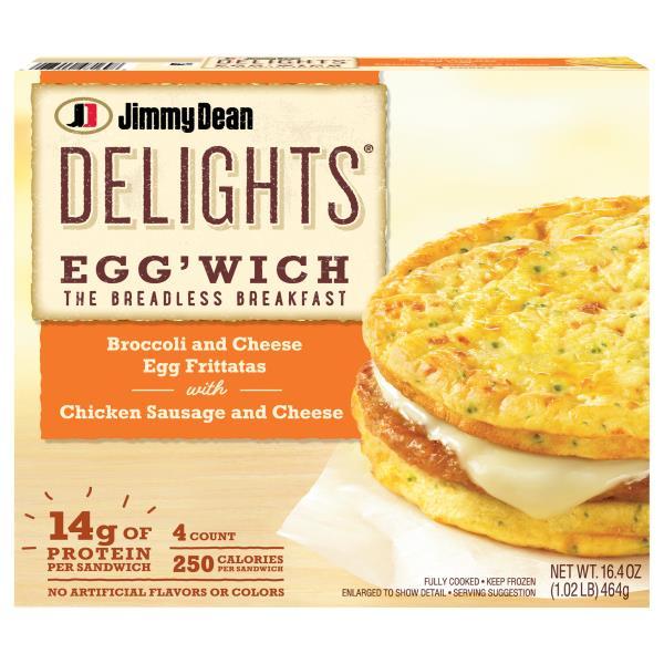 Jimmy Dean Delights Eggwich Publix