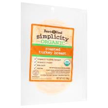 Boars Head Simplicity Turkey Breast, Organic Roasted
