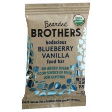 Bearded Brothers Energy Bar, Bodacious Blueberry Vanilla