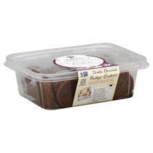 Raised Gluten Free Cookies, Double Chocolate Fudge