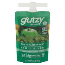 Gutzy Organic Apple Spinach Kiwi Kale