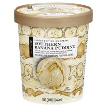 Publix Premium Ice Cream, Southern Banana Pudding