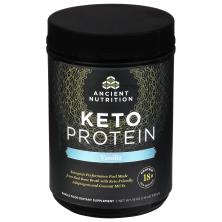 Ancient Nutrition Keto Protein Dietary Supplement, Vanilla
