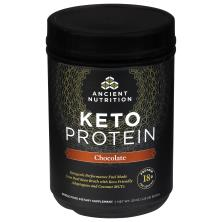 Ancient Nutrition Keto Protein Dietary Supplement, Chocolate