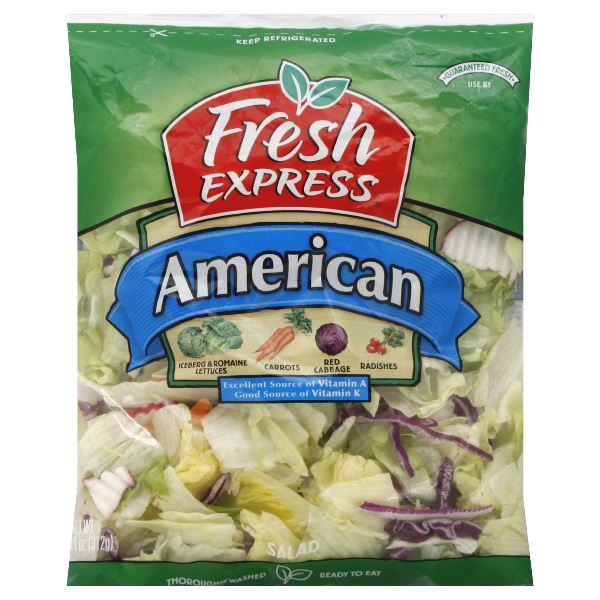 Fresh Express Salad, American