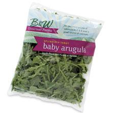 B&W Baby Arugula