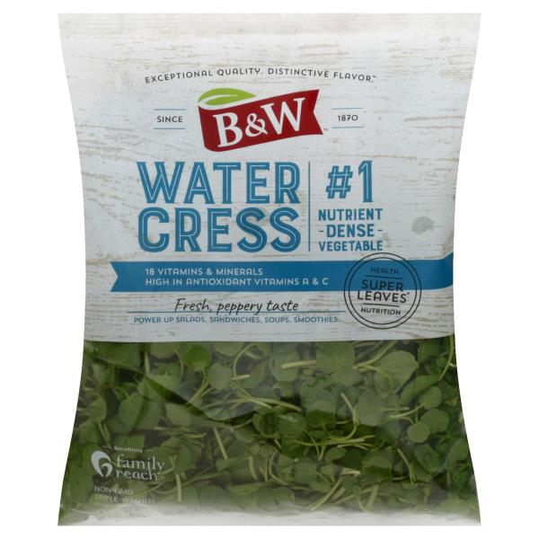 B&W Watercress