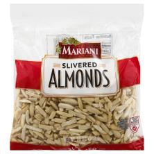 Mariani Almonds, Premium, Slivered, Blanched
