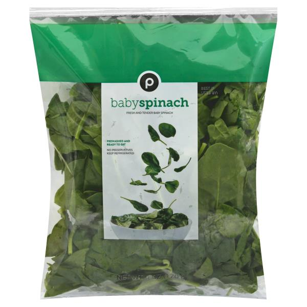 Publix Baby Spinach