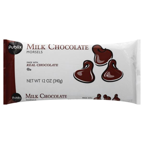 Publix Morsels, Milk Chocolate