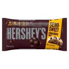 Hersheys Kitchens Chocolate Chips, Semi-Sweet