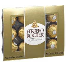 Ferrero Rocher Chocolates, Fine Hazelnut