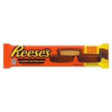 Reeses Peanut Butter Candy, Milk Chocolate, King Size