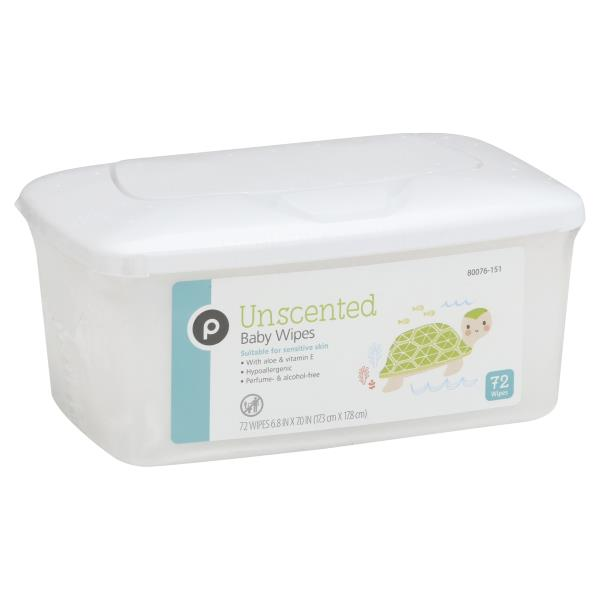 Publix Baby Wipes, Unscented