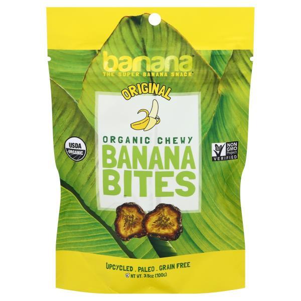 Barnana Banana Bites, Chewy, Organic, Original
