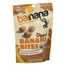 Barnana Banana Bites, Organic, Peanut Butter, Chewy