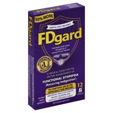 FDgard Medical Food, Functional Dyspepsia, Capsules