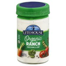 Litehouse Organic, Ranch Dressing and Dip
