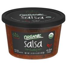 Fresh Cravings Salsa, Organic, Chunky, Medium Crave