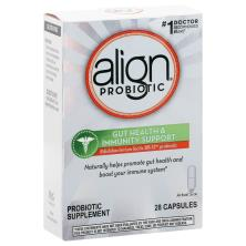 Align Probiotic Supplement, Daily Immune Support, Capsules