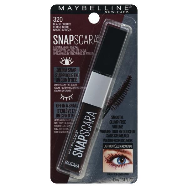 4fdf9c92351 Maybelline SnapScara Mascara, Black Cherry 320 : Publix.com