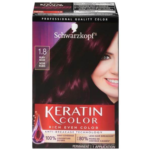 Keratin Color Permanent Hair Color Anti Age Ruby Noir 1 8 Publix Com