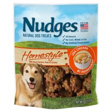 Nudges Dog Treats, Natural