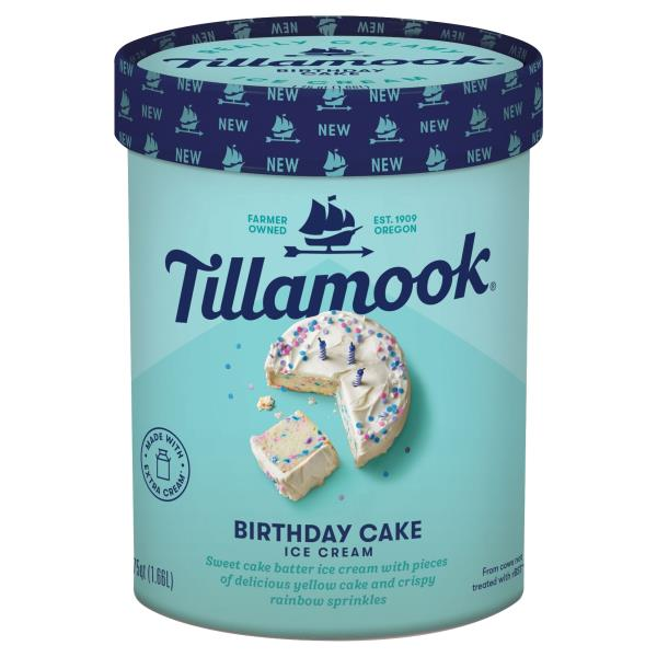Tillamook Ice Cream Birthday Cake