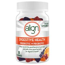 Align Prebiotic+Probiotic Gummies, Dietary Supplement